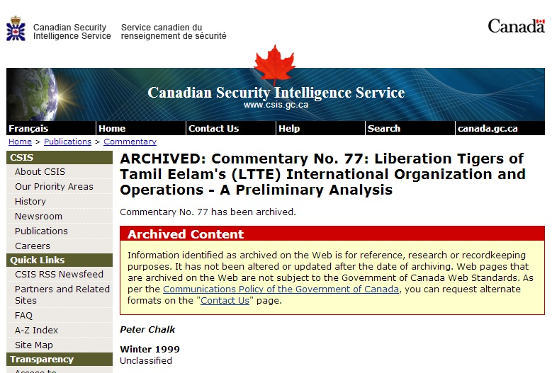 an analysis of the organization of canadian security intelligence service Functions of an intelligence organization:  and analysis of raw signals intelligence data provided  the canadian security intelligence service.